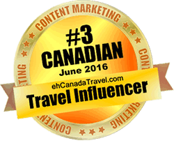 eh Canada Travel - #3 Top Influencer for June 2016