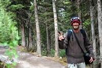 Hiking Six Glaciers Trail in Lake Louise, Alberta