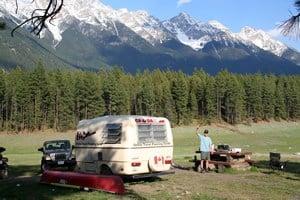 Camping on Horseshoe Lake