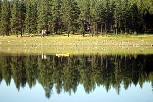 Canoeing on Horseshoe Lake