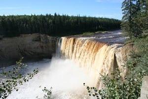 Alexandra Falls - Twin Falls Territorial Park