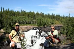 Cameron Falls near Yellowknife, NWT