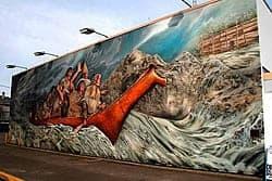 Sidney, BC, Canada mural.