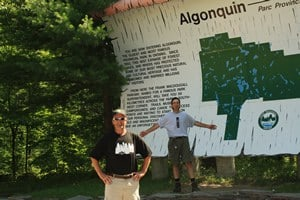Visiting Algonquin Provincial Park with KEEN and NPA.