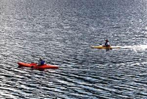 Kayaking Lake Revelstoke