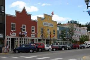Whitehorse, Yukon Territories in Canada