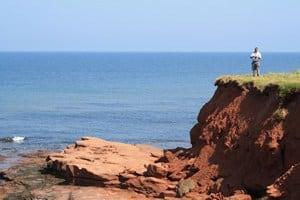 Prince Edward Island Red Sand Beaches & Cliffs