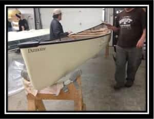 Dumoine Composite Canoe by Swift