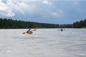 Canoeing Canadian Voyageurs