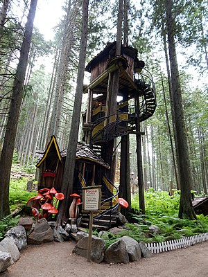 Canada's Tallest Treehouse