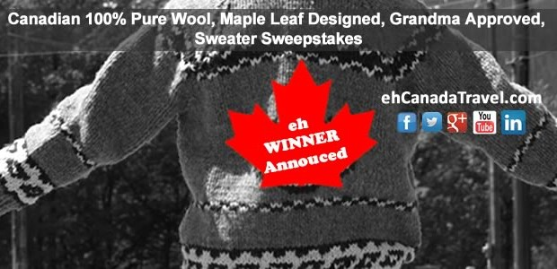 "New Brunswick Winner of Sweater Sweepstakes Announced Celebrating New Apparel Line! ""Our line of sweaters and toques are all knitted using our very own Canadian themes and one-of-a-kind designs. Our […]"
