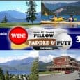 "WIN 3 Adventures in 3 Days – 3 Nights Kaslo, B.C., Canada ""The Pillow, Paddle & Putt Getaway (#pillowpaddleputt) is about exploring lakes and rivers, greens and tees, cabins and […]"