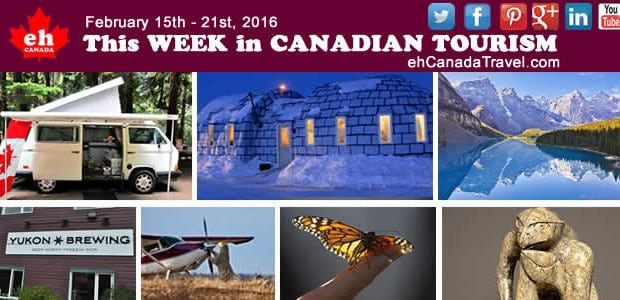 February Canada Tourism News– Week 3 February 15thto 21st, 2016. Top 16 Canadian tourism and travel news stories, tips, trends, surveys for the thirdweek of February 2016 –February Canada Tourism […]