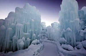 Ice Castle - February Canada Tourism News - Week 1