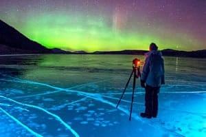 Alberta Ice Bubbles - February Canada Tourism News - Week 1