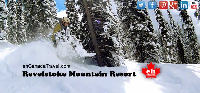 Revelstoke Snowboarding & Skiing Mountain Resort