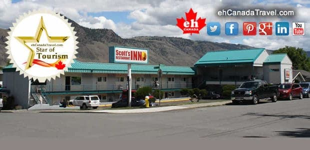 """Kamloops B.C. Scott's Inn and Restaurant """"Its easy to seethat Scott's Inn is a believer in first impressions."""" This is a """"Stars of Tourism"""" Promotion Click toViewScott's Inn and Restaurant […]"""