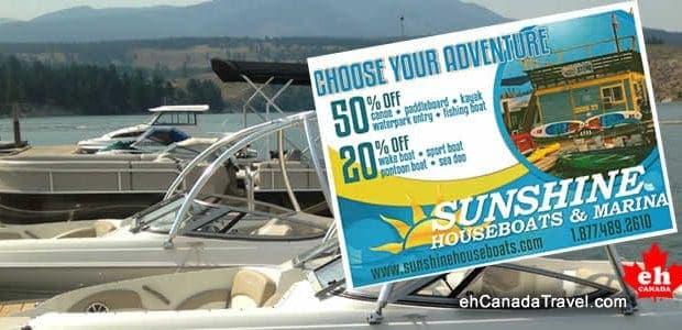 WIN a Lake Koocanusa Adventure Couponfrom Sunshine Houseboats, Cranbrook, BC. Summary:Winner will enjoya Lake KooCanUsa Adventure with Sunshine Houseboats in Cranbrook, BC, Canada. You could win 50% Off a canoe, […]