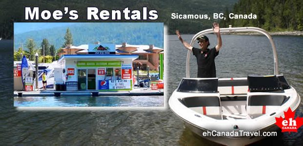 """Shuswap Lake, SicamousB.C.Moe's Rentals This is a """"Stars of Tourism""""Video """" Their knowledge of the lake is exceptional. Their inventory is top notch. And the staff… well… we just cannot […]"""