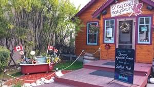 O'Canada Soapworks, Canmore, Alberta Canada