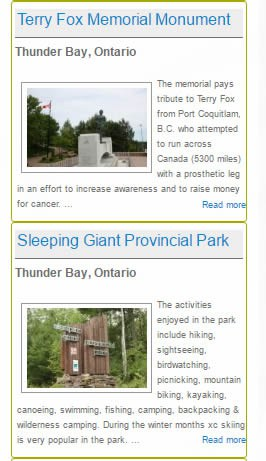 Add Your Favorite Ontario Parks, Trails, Place