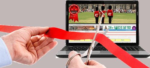 Ontario Canada Travel Website Launch