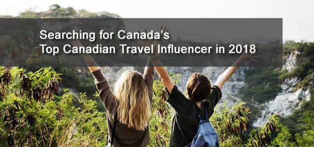 Canadian Travel Influencer