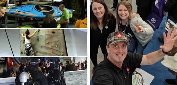 """Vancouver Outdoor Adventure and Travel Show Celebrating Outdoor Adventures in Vancouver, BC, Canada """"You could tell this was a show for adventure providers and adventure enthusiasts to connect and hook […]"""