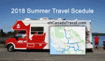 2018 Summer Travel Schedule