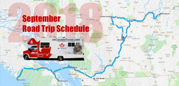 """2018 September Road Trip Schedule The Next Chapter Of Our #ehRoadTrip """"The Maple Leaf RV is covering some big kilometres for the wrong reasons in 2018. We are going to […]"""
