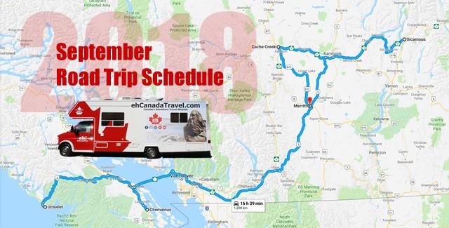 September Road trip
