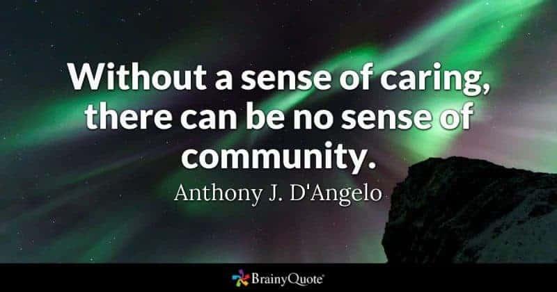 Love of Community