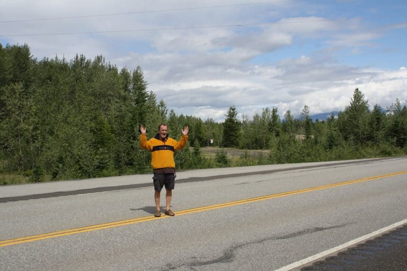 Highway 16 from Valemount to Prince George