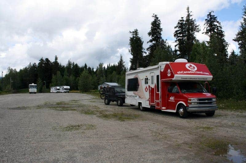 Maple Leaf RV in Dome Creek BC