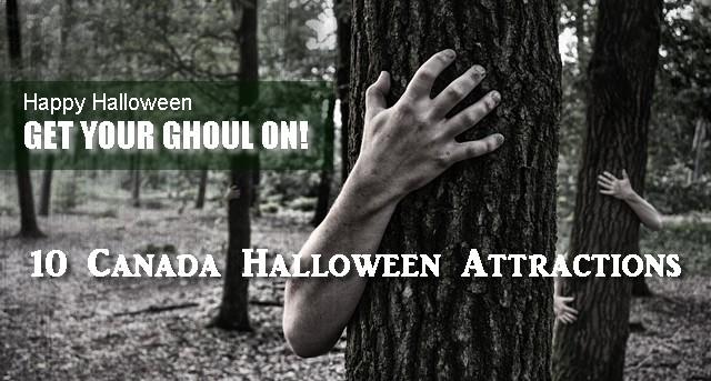 Canada Halloween attractions