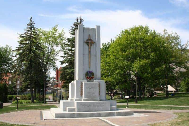 memorial park sudbury ontario canada
