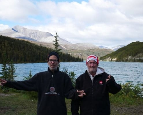 summitt lake on alaska highway