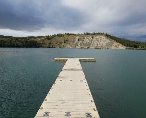 Schwatka Lake whitehorse road trip