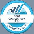 Best Canadian Travel Blog - expertido
