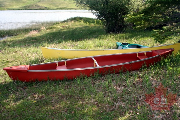 Stranded Canoes | eh Canada Photo Gallery