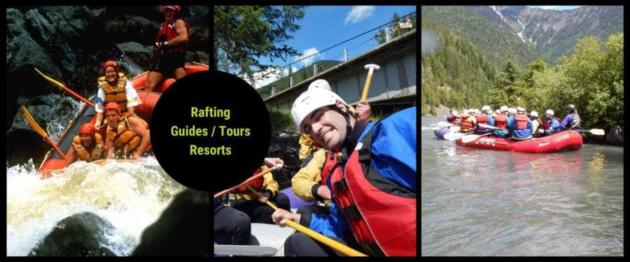canada rafting tours guides