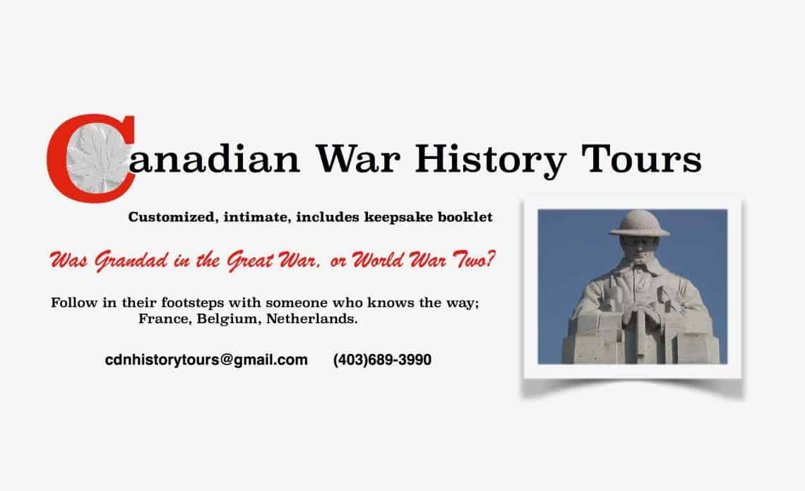 Canadian War History Tours