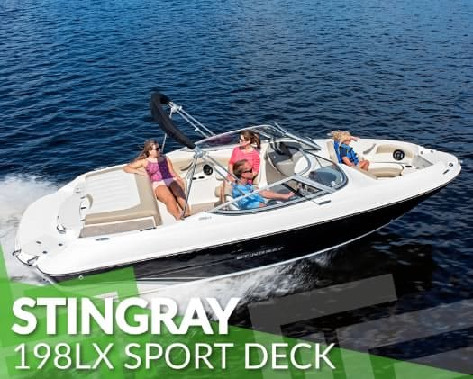 This Stingray Sport Deck boat will be featured at the Boat Sale & Swap.<br /><br />#boatsale #stingrayboats #forsale #lakekoocanusa #ferniebc #cranbrookbc