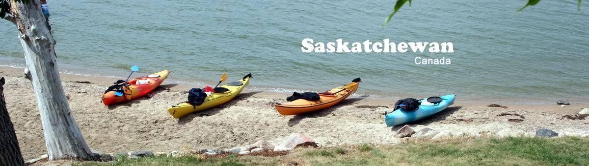 Kayaking - Saskatchewan, Canada