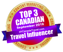 eh Canada Adventure Travel - Top Influencer for September 2016