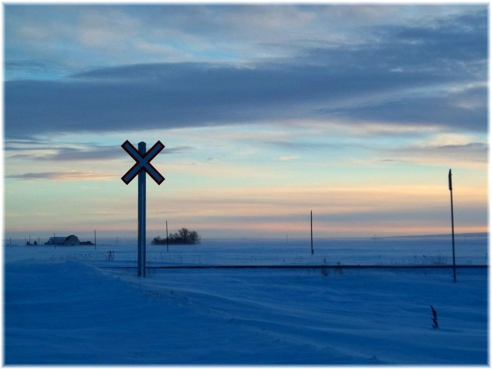Beautiful Saskatchewan on a cold wintry day