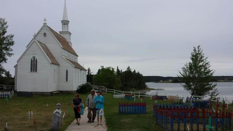 Open to visitors, the Stanley Mission Church is a must visit while in Northern Saskatchewan