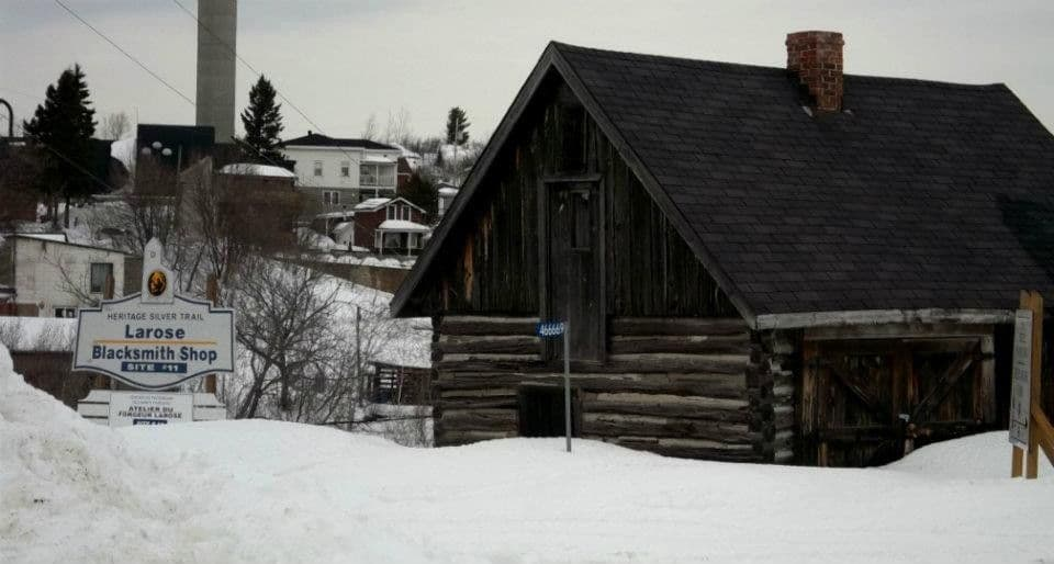 Fred Larose Blacksmith Shop<br />Cobalt, Ontario