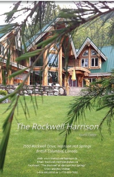 The Rockwell Harrison Guest Lodge ... it's more than a B&B.  #HarrisonLake #HarrisonHotSprings #Tourism Harrison #Bed&Breakfast