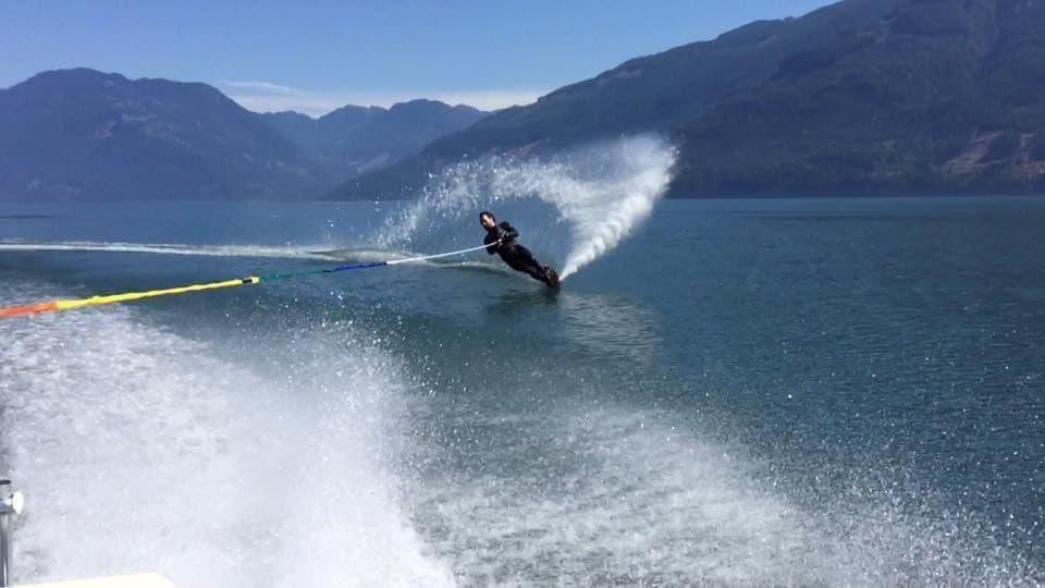 #WaterskiingParadise #HarrisonLake #HarrisonHotSprings #TheRockwellHarrisonGuestLodge